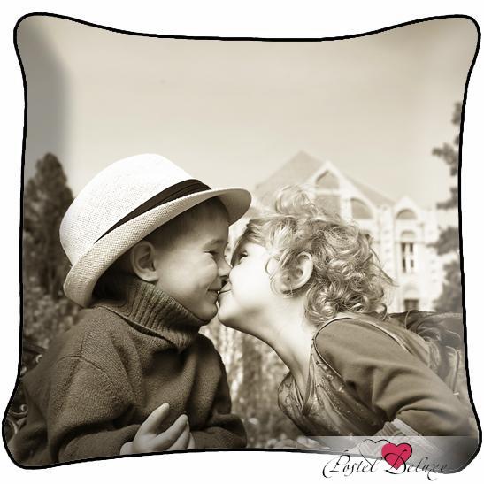 где купить Декоративные подушки Fototende Декоративная подушка Ретро Поцелуй по лучшей цене