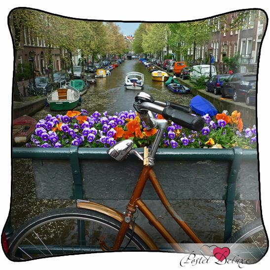 Декоративные подушки Fototende Декоративная подушка На Мосту вышивка на аничковом мосту