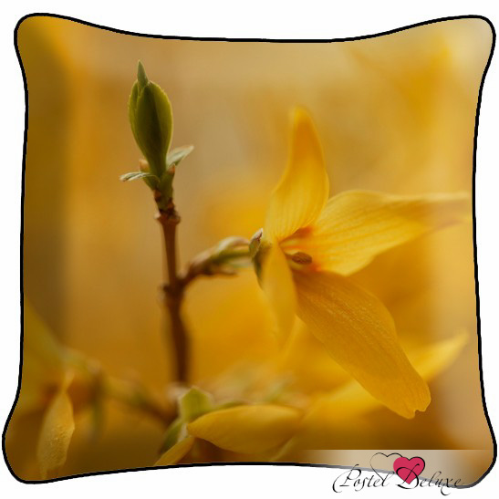 где купить Декоративные подушки Fototende Декоративная подушка Желтый Цветок по лучшей цене
