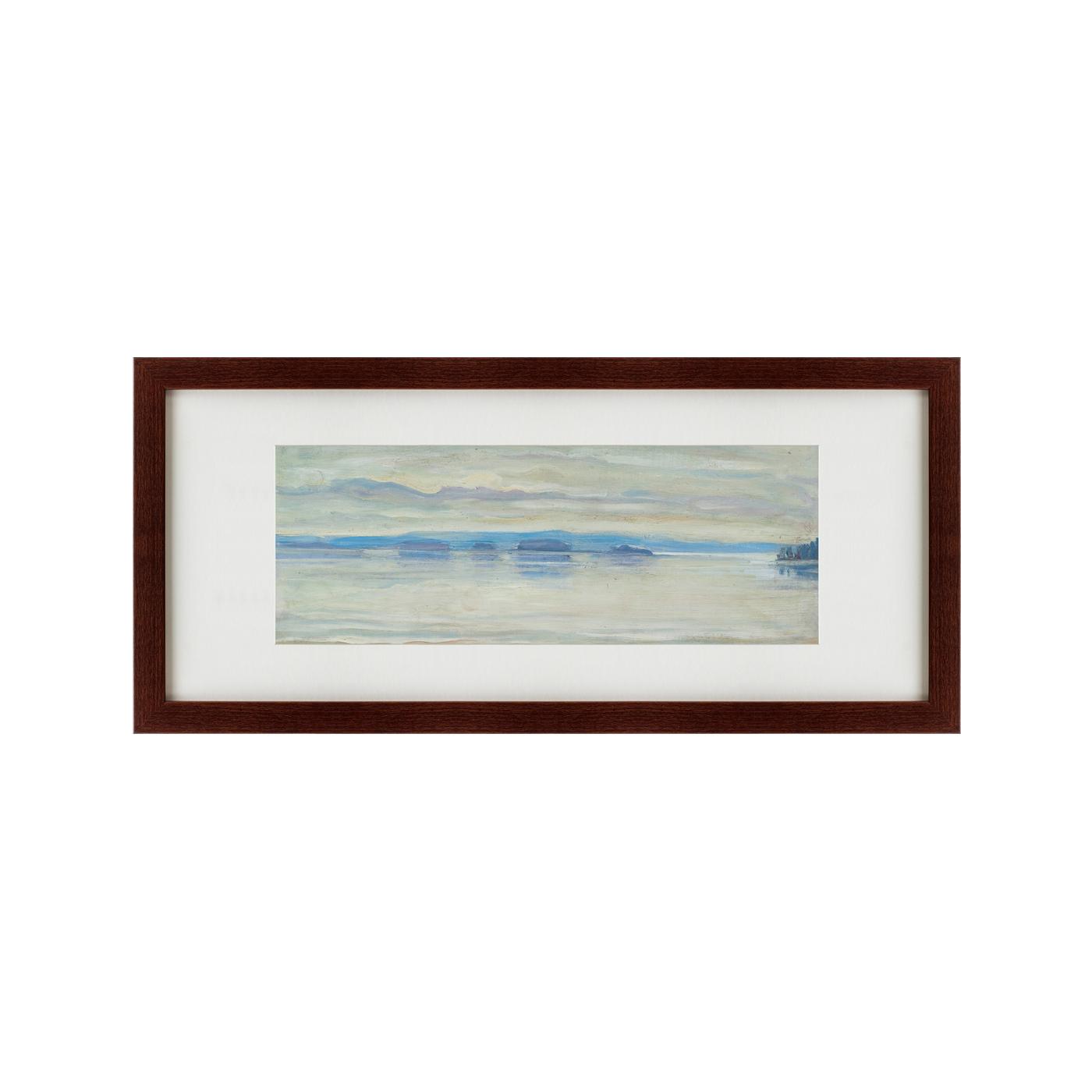{} Картины в Квартиру Картина Morning In Ruovesi (35х77 см) картины в квартиру картина озеро этюд на закате 35х77 см
