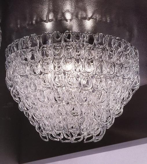 {} CRYSTAL LIGHT Светильник потолочный Deep (30х60 см)