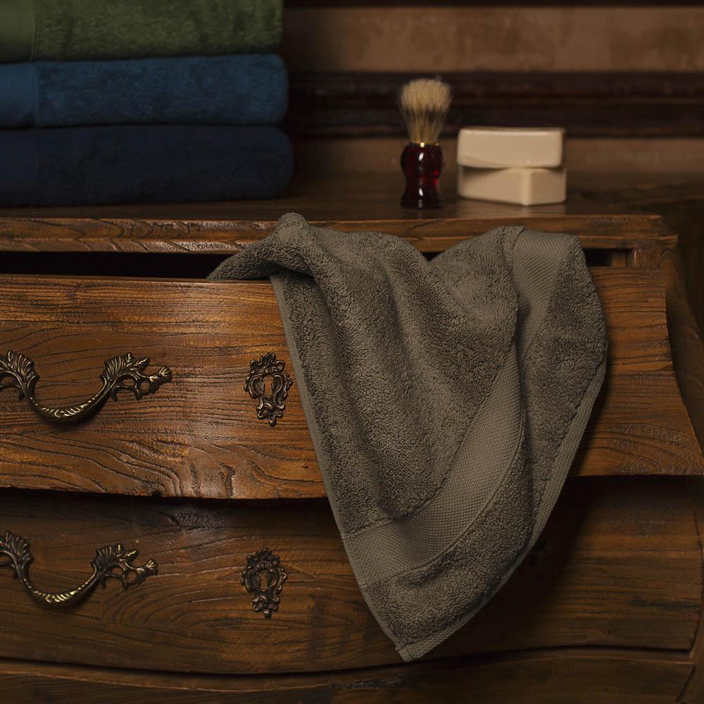 Полотенца William Roberts Полотенце для лица Aberdeen Цвет: English Brown (Серо-Коричневый) (50х90 см)
