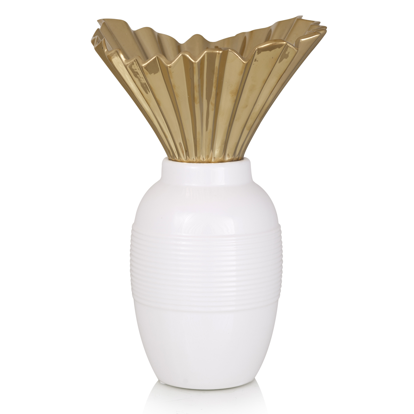 {} Home Philosophy Ваза Daisy (18х21х32 см) ваза керамика розовый рассвет 18 12 8 5 см 863622