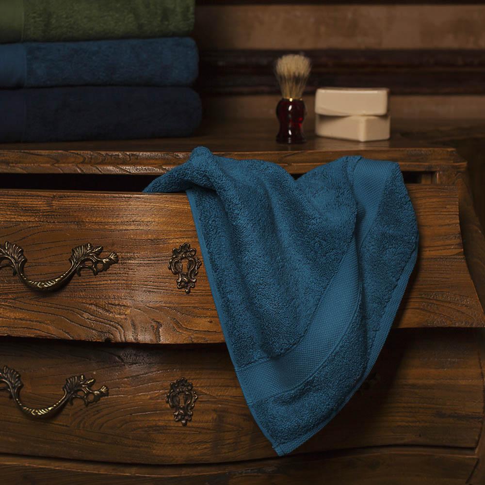 Полотенца William Roberts Полотенце для лица Aberdeen Цвет: Grand Fjord (Темно-Бирюзовый) (50х90 см)