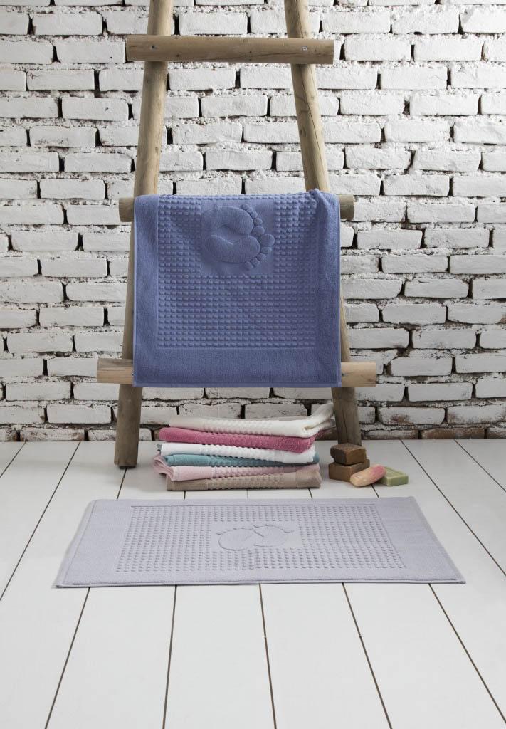 Аксессуары для ванной и туалета Arya Коврик для ванной Winter Soft Цвет: Сухая Роза (50х70 см)