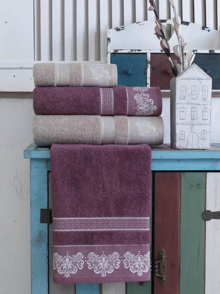 Полотенца Arya Полотенце Ares Цвет: Пурпурный (50х90 см) полотенца arya полотенце apollo цвет пурпурный 70х140 см
