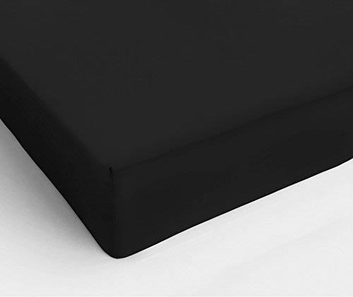 где купить  Простыни KAYALAR Простыня на резинке Marlee Цвет: Черный (180х220)  по лучшей цене
