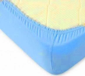 где купить  Простыни KAYALAR Простыня на резинке Marlee Цвет: Голубой (200х220)  по лучшей цене
