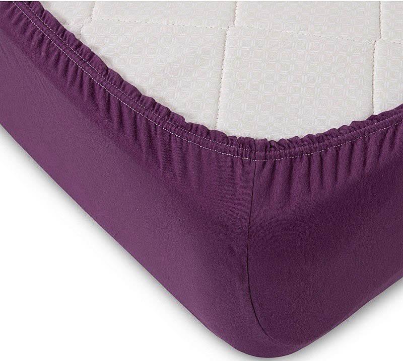 где купить  Простыни KAYALAR Простыня на резинке Marlee Цвет: Фиолетовый (200х220)  по лучшей цене