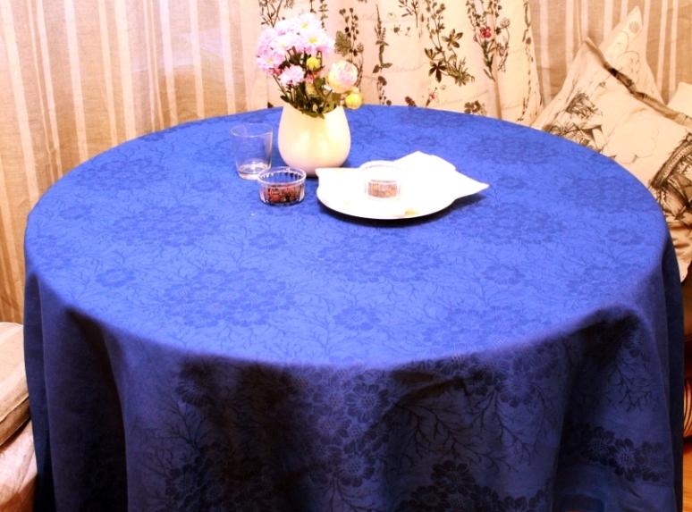 Скатерти и салфетки Василиса Скатерть Космея Цвет: Синий (150х180 см) василиса василиса скатерть бабочки цвет красный желтый зеленый 145х150 см