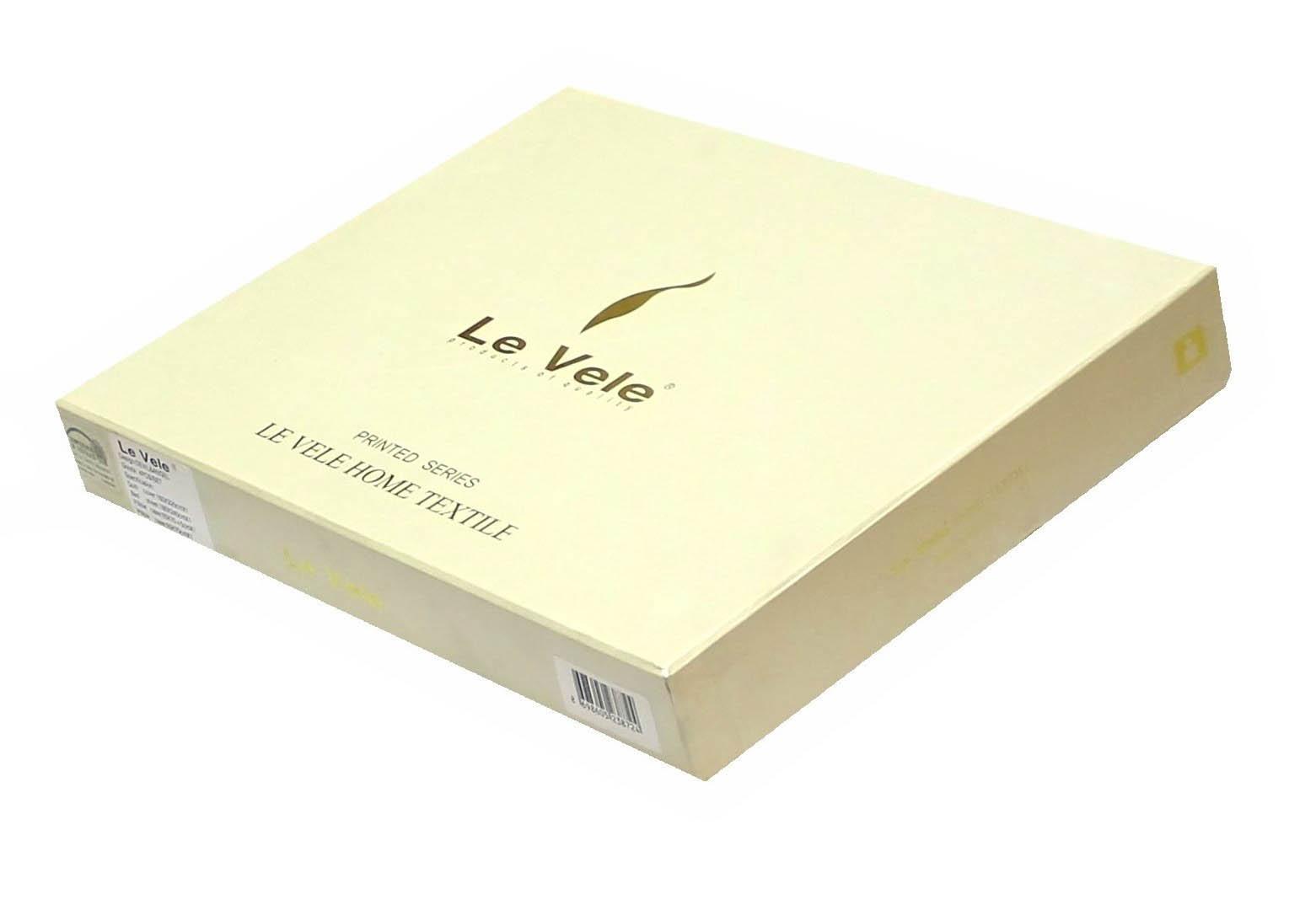 Постельное белье Le Vele Постельное белье Buket Black (1,5 спал.) le vele le vele кпб poli 1 5 спал