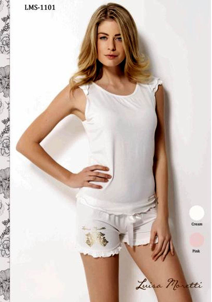цена  Пижамы Luisa Moretti Пижама Kadence Цвет: Розовый (S)  онлайн в 2017 году