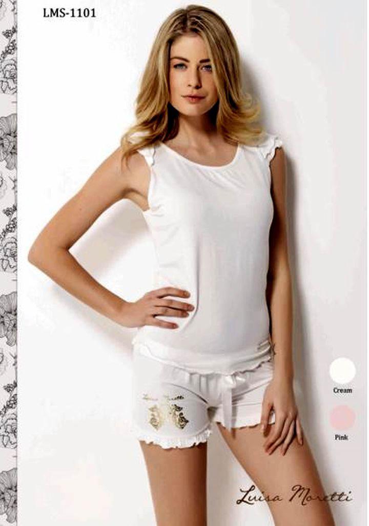 цена  Пижамы Luisa Moretti Пижама Kadence Цвет: Розовый (xL)  онлайн в 2017 году