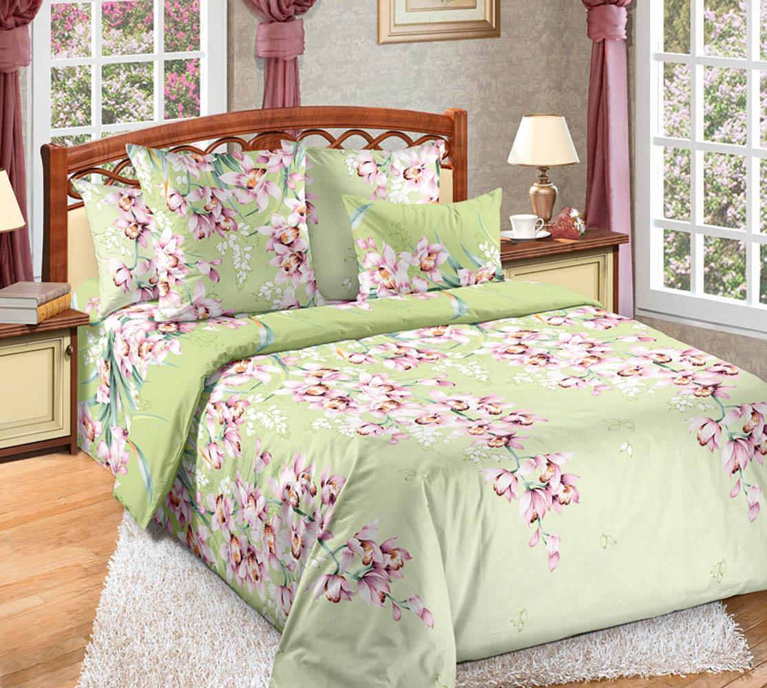 Постельное белье ТК Хлопковый Рай Постельное белье Лиана (2 сп. евро) постельное белье сирень постельное белье евро кпб рай