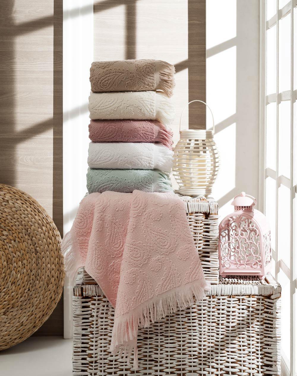 Полотенца Arya Полотенце Misley Цвет: Белый (70х140 см) полотенца arya полотенце apollo цвет пурпурный 70х140 см