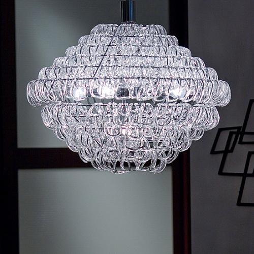 {} CRYSTAL LIGHT Подвесной светильник Canberra (80 см) crystal light светильник подвесной copacabana 20х40 см