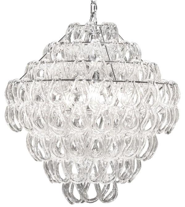 все цены на  {} CRYSTAL LIGHT Подвесной светильник Canberra (80х150 см)  онлайн