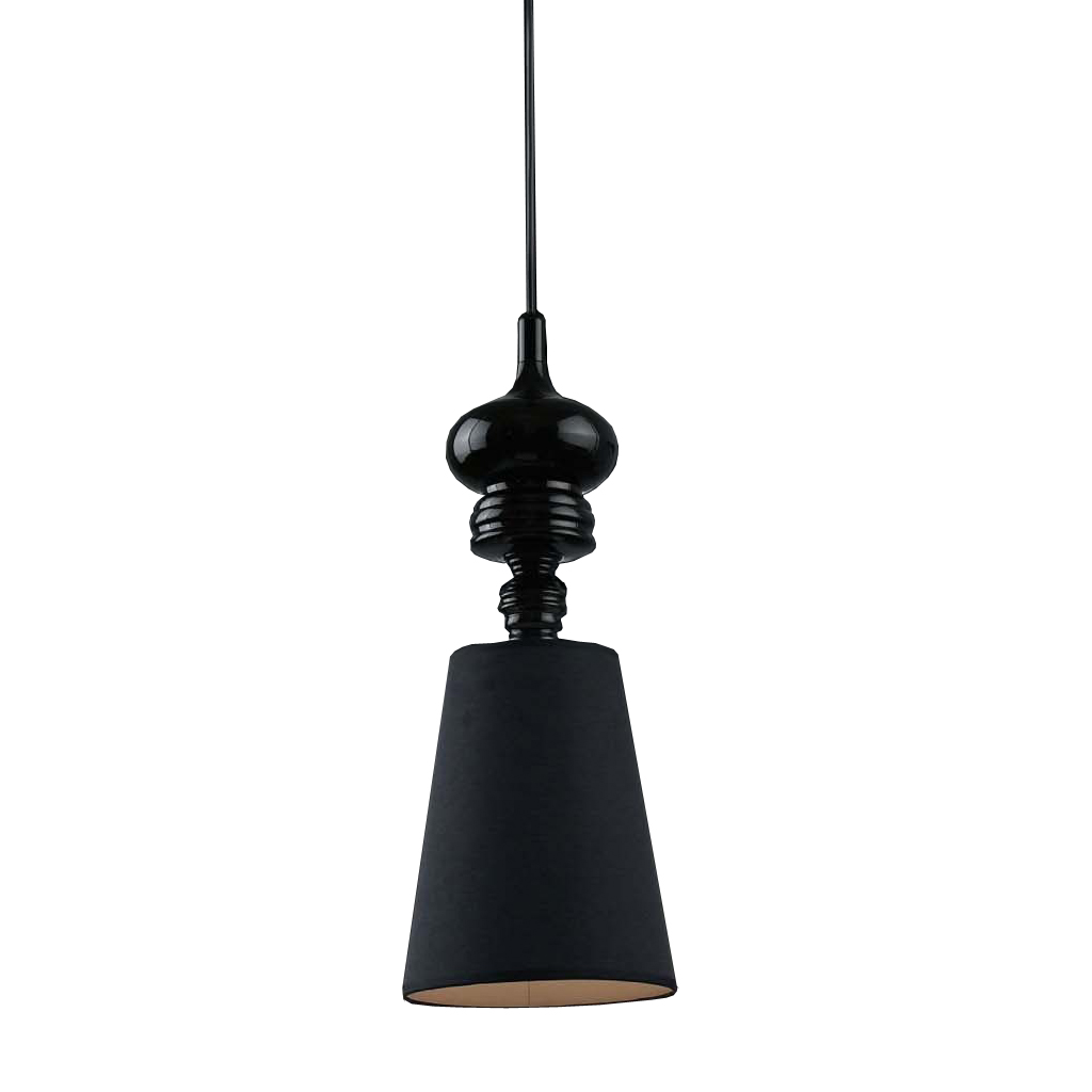{} CRYSTAL LIGHT Светильник подвесной Josephine Цвет: Черный (30х85 см) crystal light светильник подвесной copacabana 20х40 см