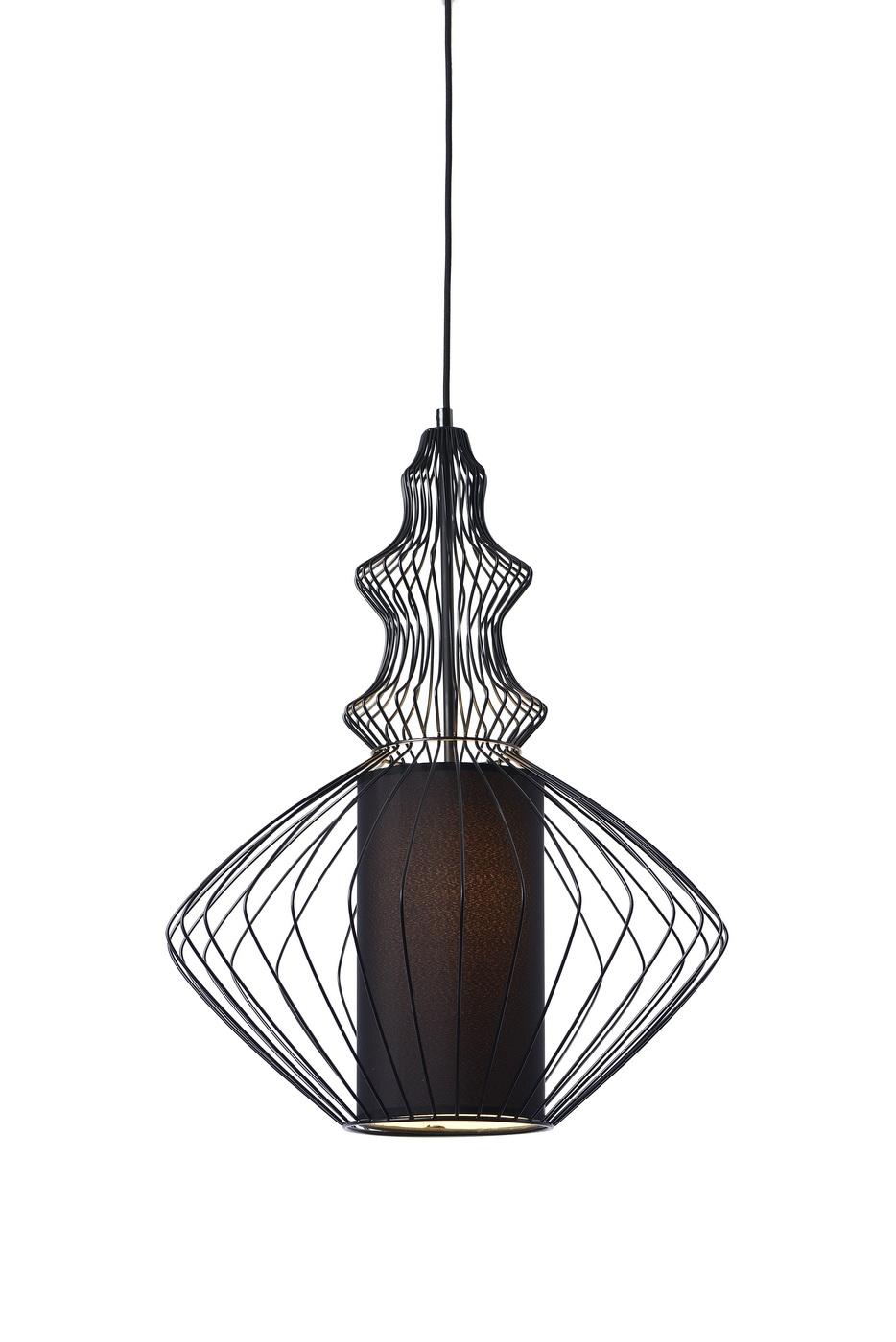 {} CRYSTAL LIGHT Светильник подвесной Opium Цвет: Черный (37х50 см)