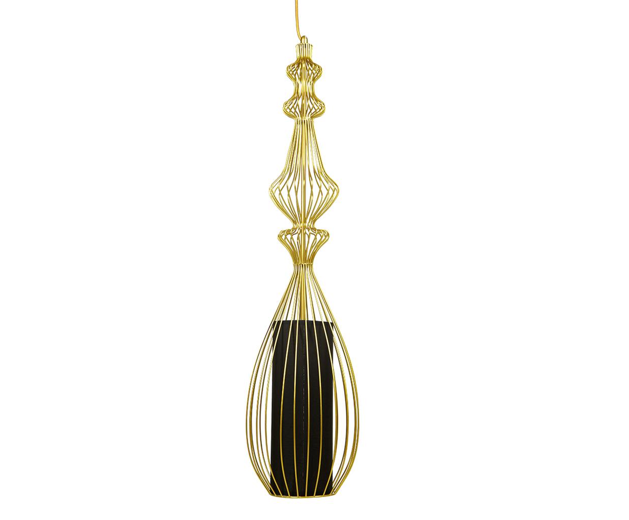 {} CRYSTAL LIGHT Светильник подвесной Lindsay Цвет: Золотой (25х90 см) crystal light светильник подвесной copacabana 20х40 см