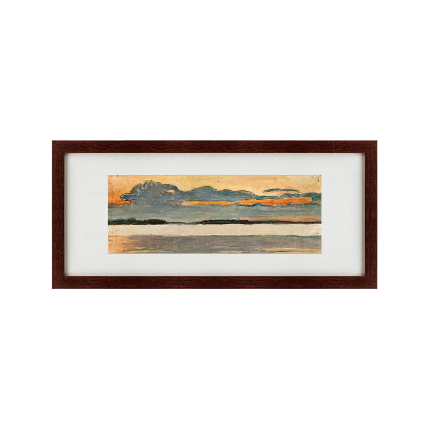 {} Картины в Квартиру Картина Dusc (35х77 см) картины в квартиру картина озеро этюд на закате 35х77 см