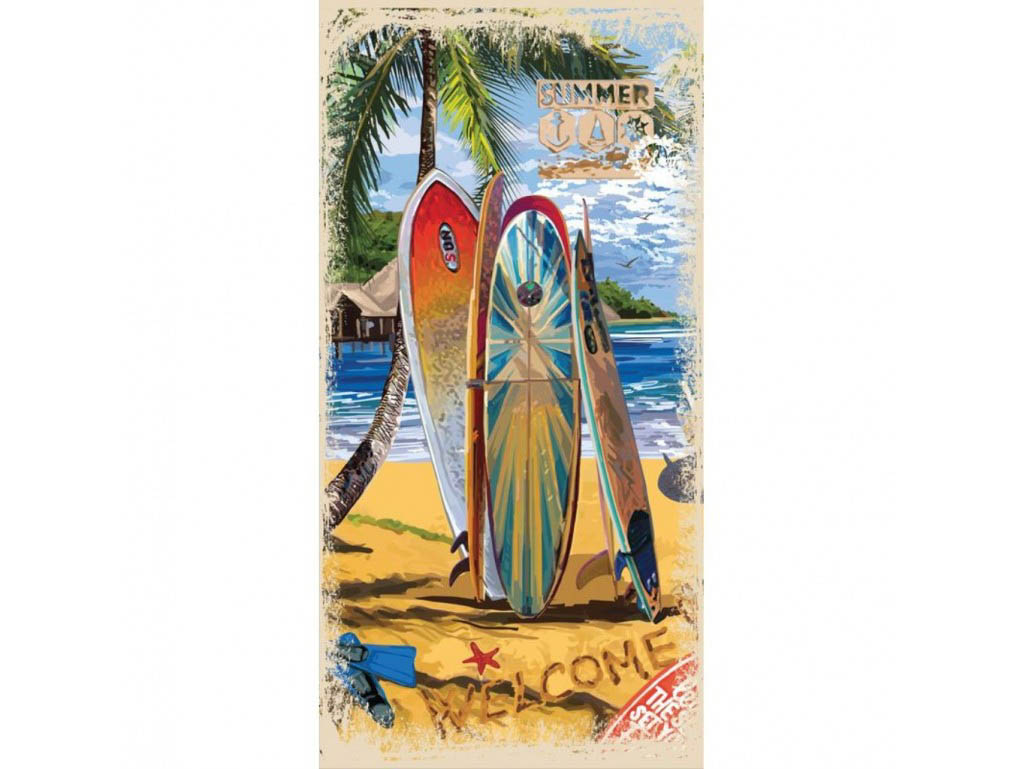 Полотенца Mona Liza Полотенце Surf (70х140 см)