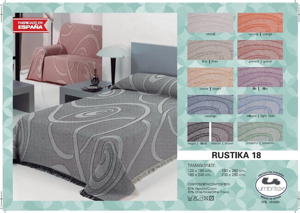 где купить Покрывало Umbritex Покрывало Rustika18 Цвет: Оранжевый (180х260 см) по лучшей цене