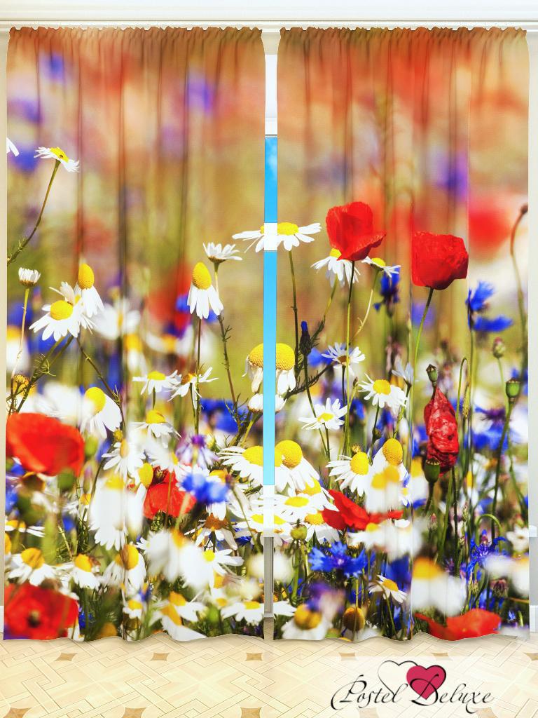 Шторы Fototende Фотошторы Полевые Цветы