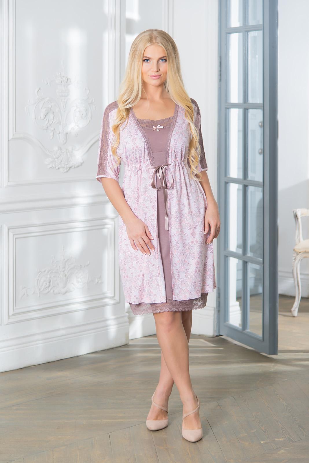 где купить  Домашние халаты Mia Cara Домашний халат Clancey (M-L)  по лучшей цене
