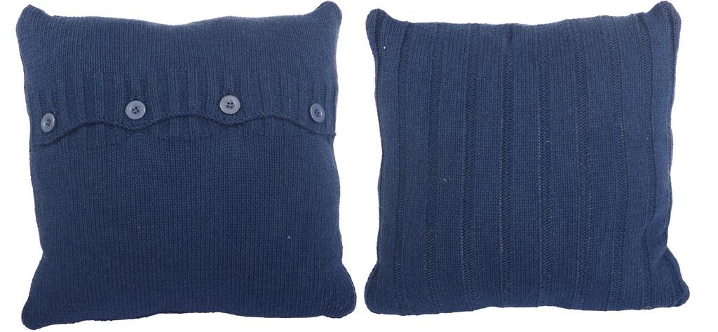 Декоративные подушки ARTEVALUCE Декоративная подушка Evita Цвет: Синий (46х46 (2 шт))