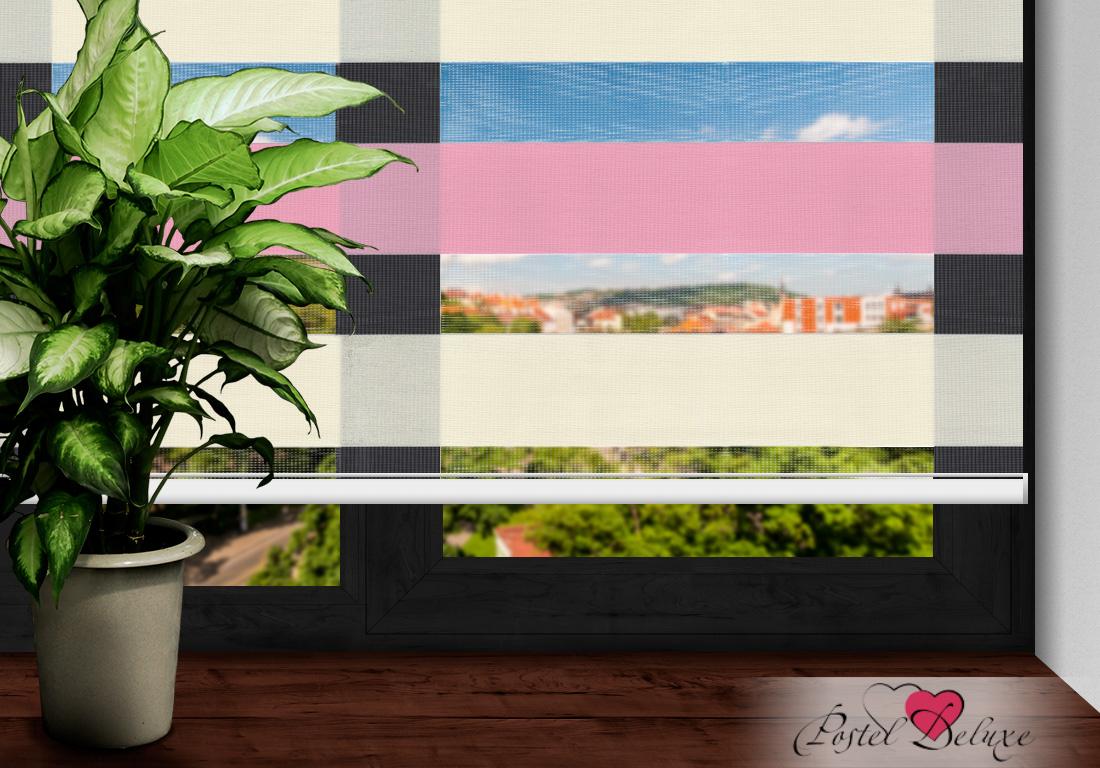 Римские и рулонные шторы Arya Рулонные шторы BarcelonaЦвет: Розовый, Айвори (120х200) arya gardenia 180 240