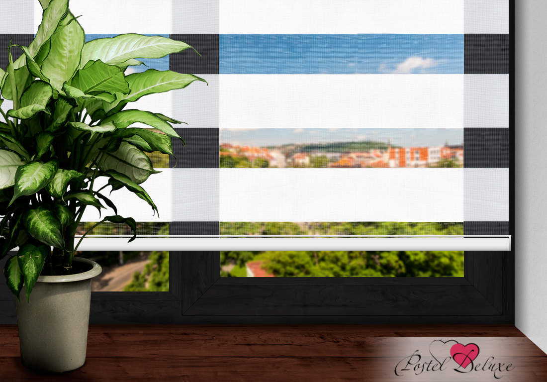 Римские и рулонные шторы Arya Рулонные шторы Lizbon Цвет: Белый (160х200) шторы для ванны arya 180x180 sunflower 1025383