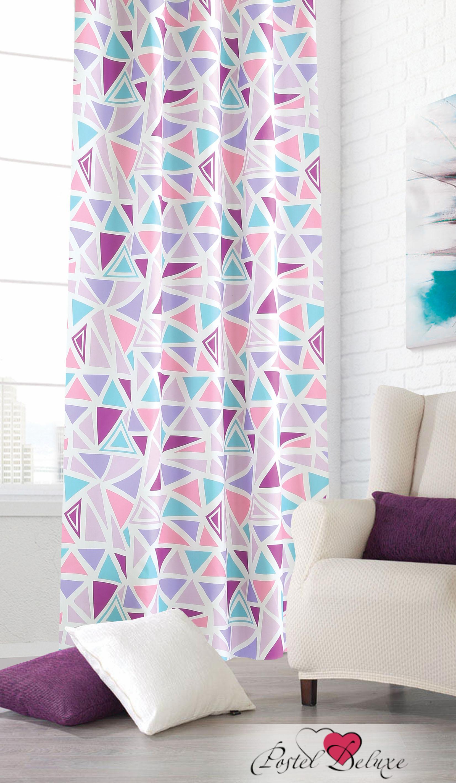 Шторы Garden Классические шторы Абстракция Цвет: Сиренево-Розовый garden garden классические шторы полевые вьюнки цвет розовый