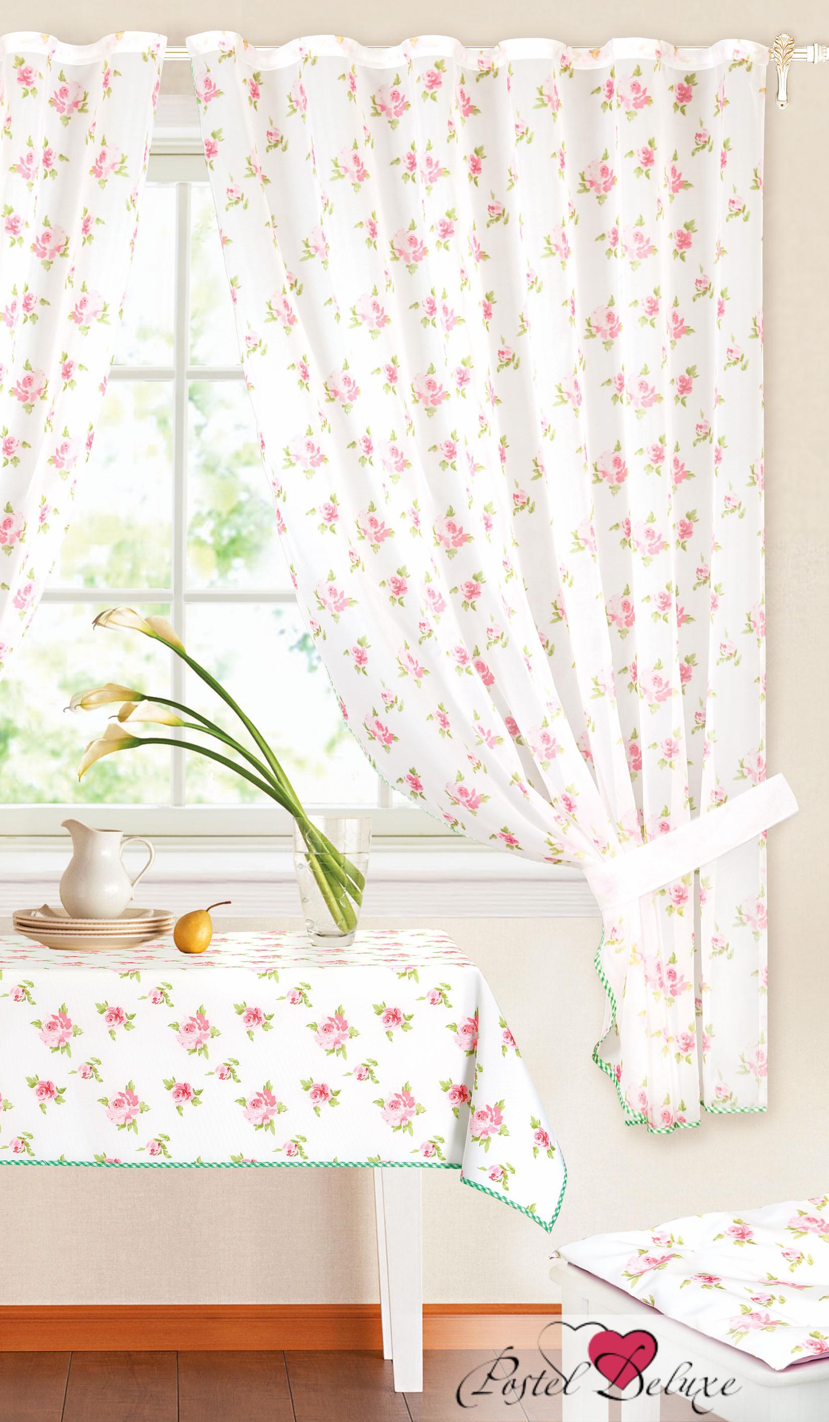 Шторы Garden Классические шторы Милые Розочки Цвет: Фуксия