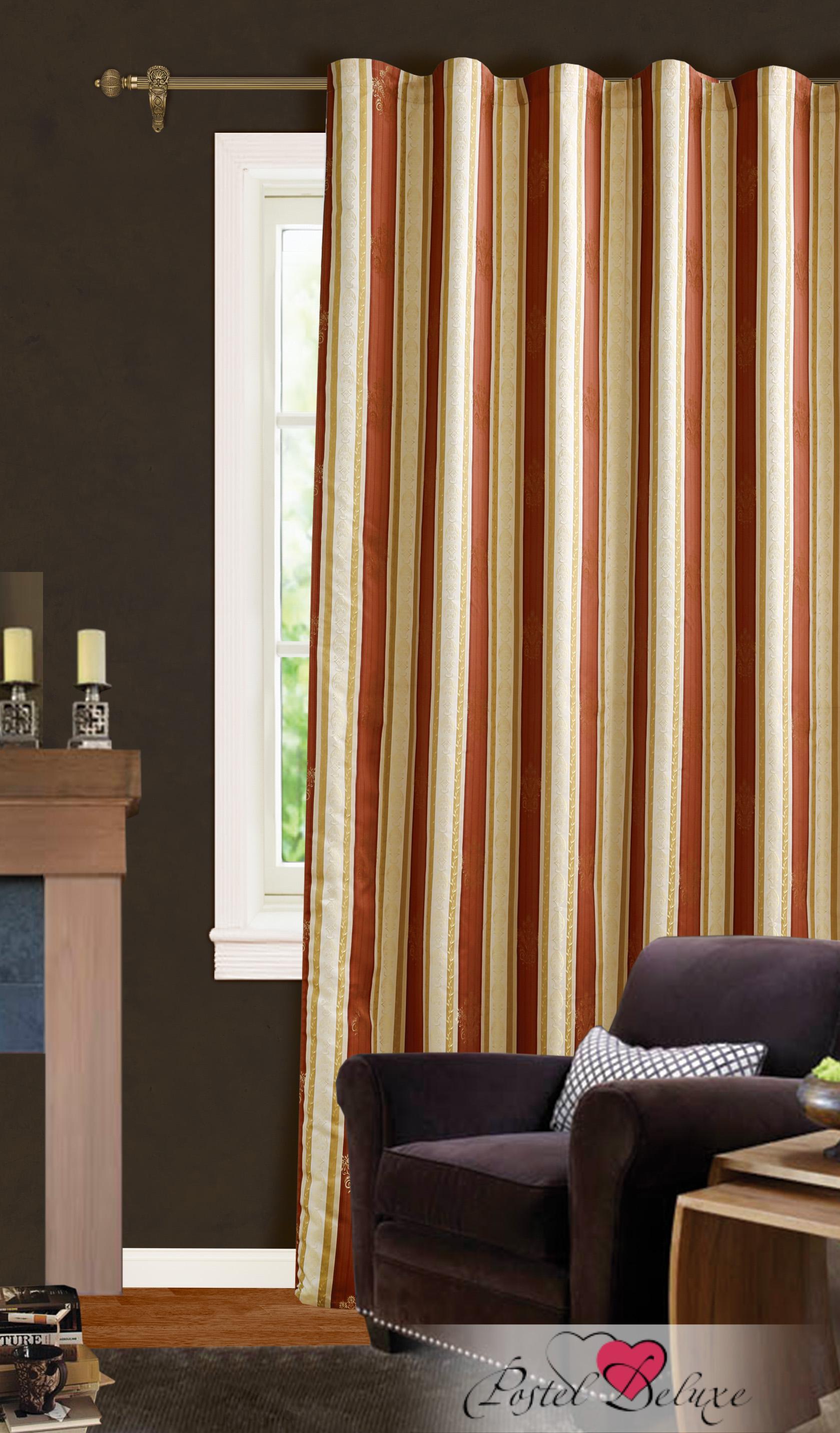 Garden Классические шторы Английский Стиль Цвет: Бордовый
