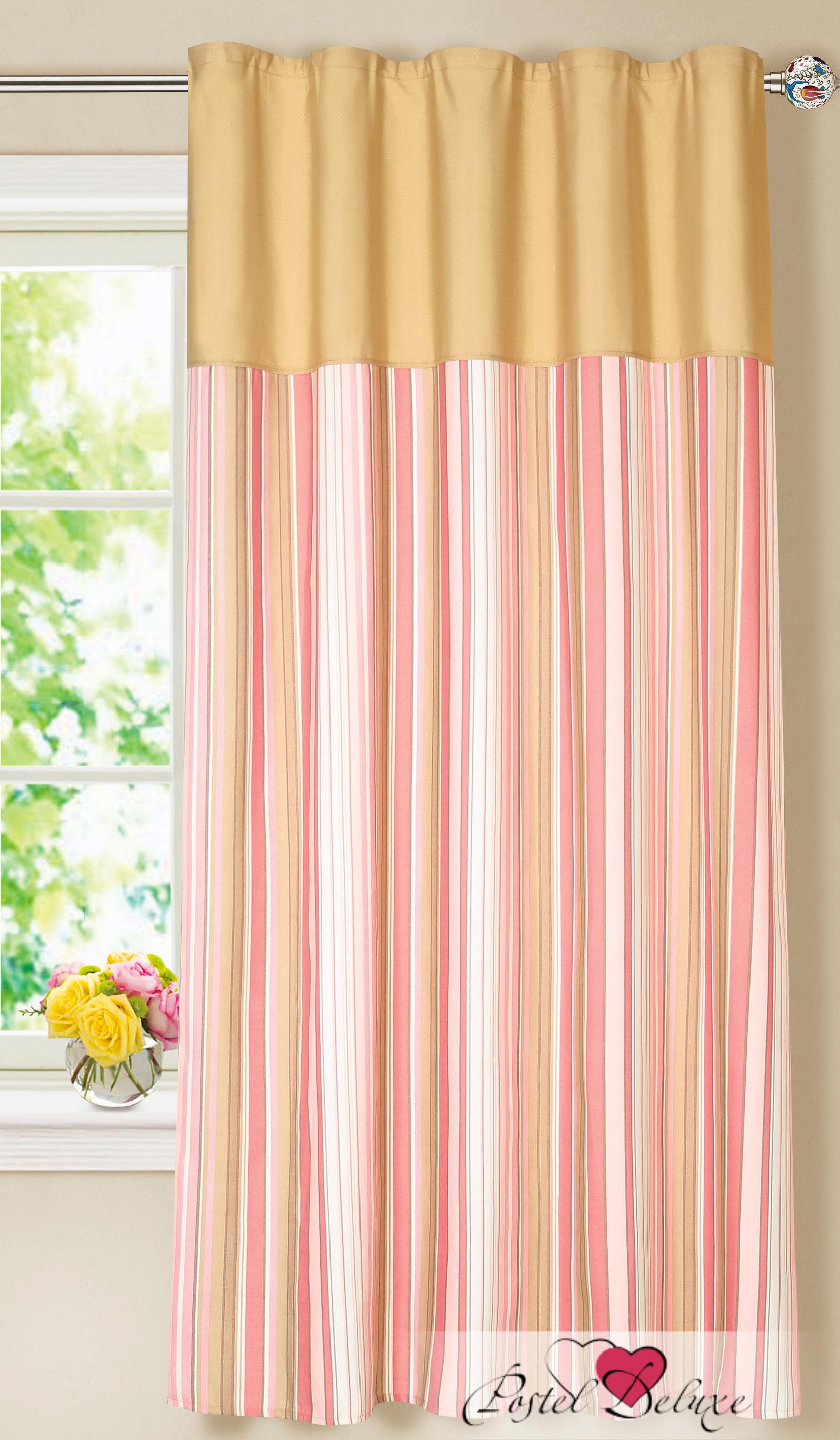 Шторы Garden Классические шторы Лапша Цвет: Золотисто-Розовый garden garden классические шторы полевые вьюнки цвет розовый