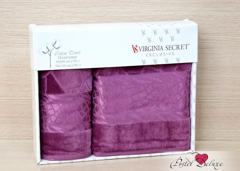 Полотенце Virginia SecretПолотенца<br>Производитель: Virginia Secret<br>Страна производства: Турция<br>Материал: Велюр (100% Хлопок)<br>Размер: 50х90 см, 70х140 см<br>Упаковка: Подарочная упаковка<br>Особенности: Подарочный набор<br><br>Тип: полотенце<br>Размерность комплекта: None<br>Материал: Велюр<br>Размер наволочки: None<br>Подарочная упаковка: есть<br>Для детей: нет<br>Ткань: Велюр<br>Цвет: Сиреневый,Фиолетовый