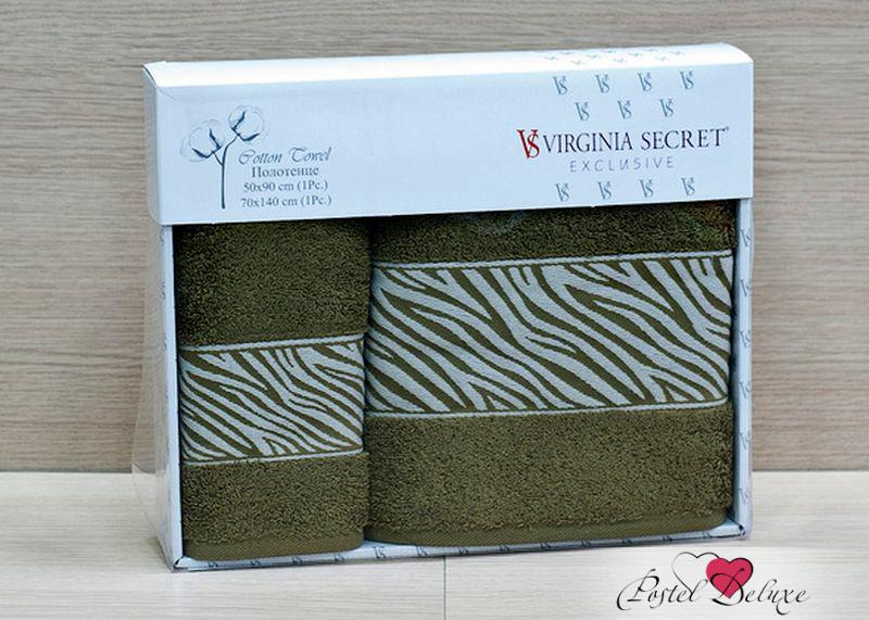 Полотенце Virginia SecretПолотенца<br>Производитель: Virginia Secret<br>Страна производства: Турция<br>Материал: Велюр (100% Хлопок)<br>Размер: 50х90 см, 70х140 см<br>Упаковка: Подарочная упаковка<br>Особенности: Подарочный набор<br><br>Тип: полотенце<br>Размерность комплекта: None<br>Материал: Велюр<br>Размер наволочки: None<br>Подарочная упаковка: есть<br>Для детей: нет<br>Ткань: Велюр<br>Цвет: Зеленый