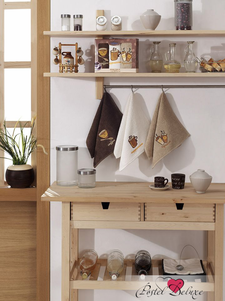 Кухонный набор YagmurКухонные наборы<br>Производитель: Yagmur<br>Страна производства: Турция<br>Материал: Махра (хлопок)<br>Размер: 30х50 см (3 шт.)<br>Набор упакован в коробку и украшен декоративными элеменами (принтом, вышивкой…)<br><br>Тип: кухонный набор<br>Размерность комплекта: None<br>Материал: Махра<br>Размер наволочки: None<br>Подарочная упаковка: None<br>Для детей: нет<br>Ткань: Махра<br>Цвет: None