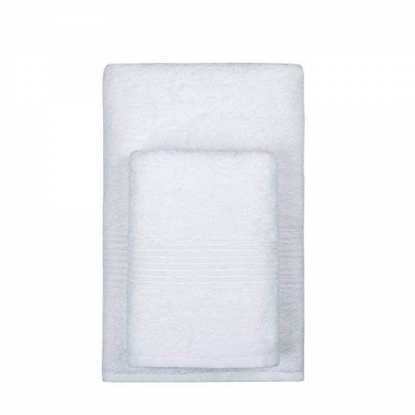 Полотенца TAC Полотенце Nessie Цвет: Белый (50х90 см)