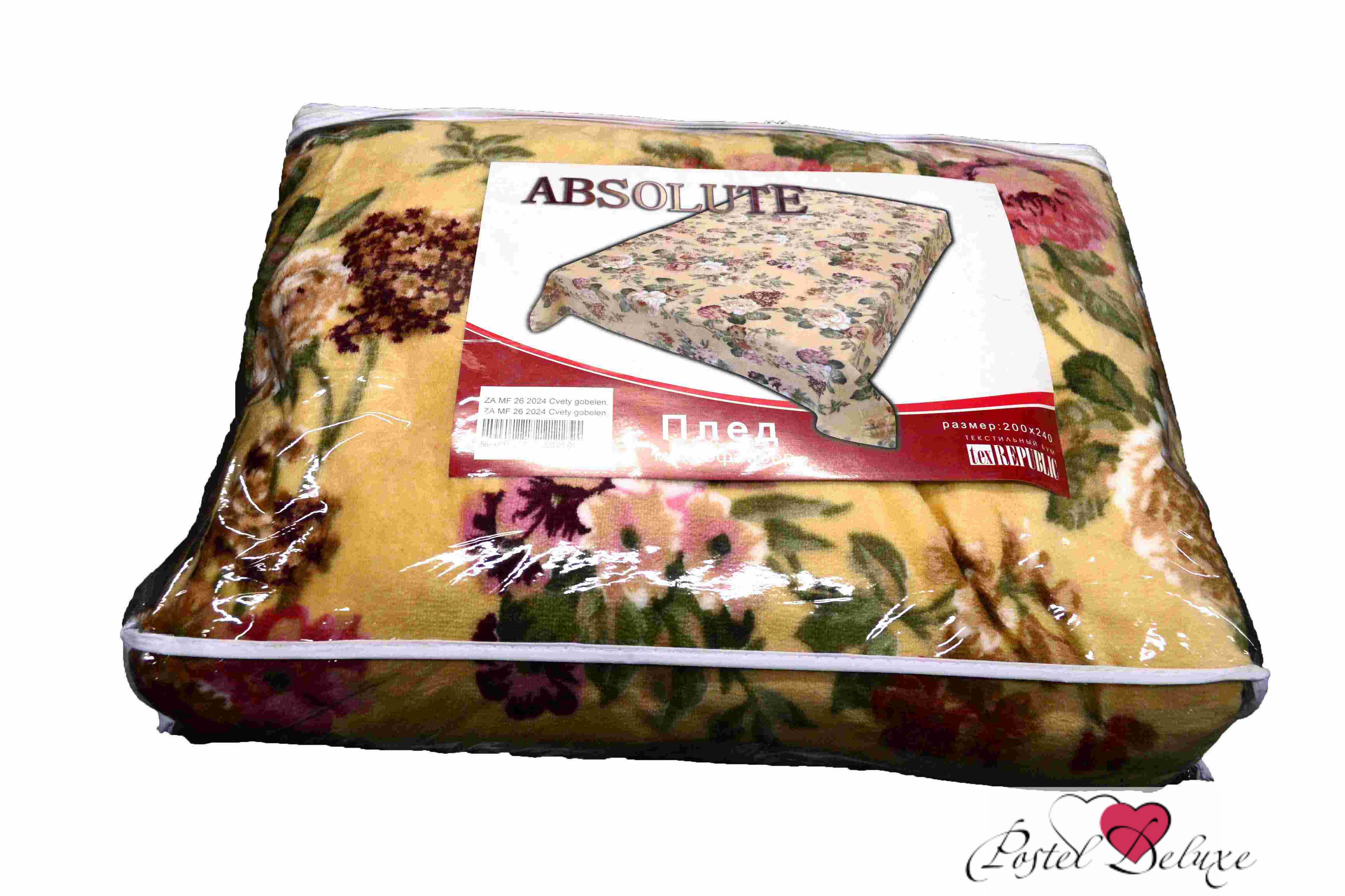Плед Absolute Плед Цветы Гобелен (150х200 см) absolute absolute плед madai 150х200 см