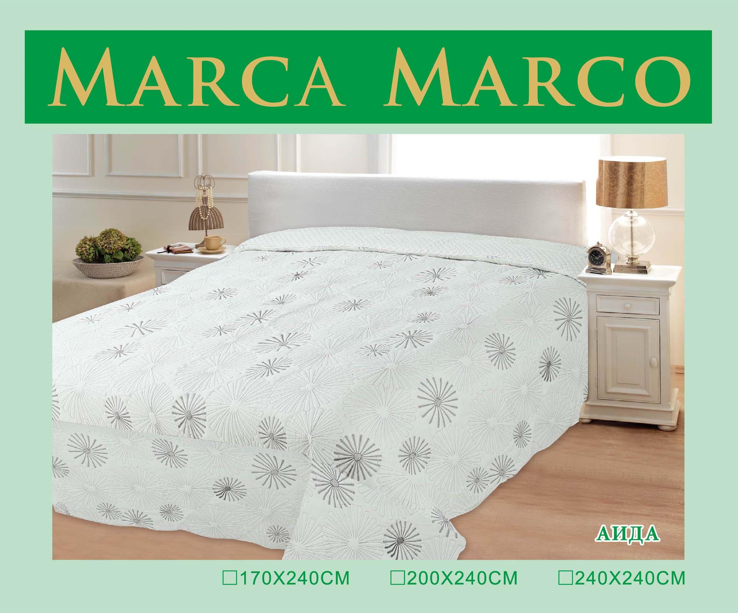 где купить  Покрывало MАRCA MARCO Покрывало Аида (240х240 см)  по лучшей цене