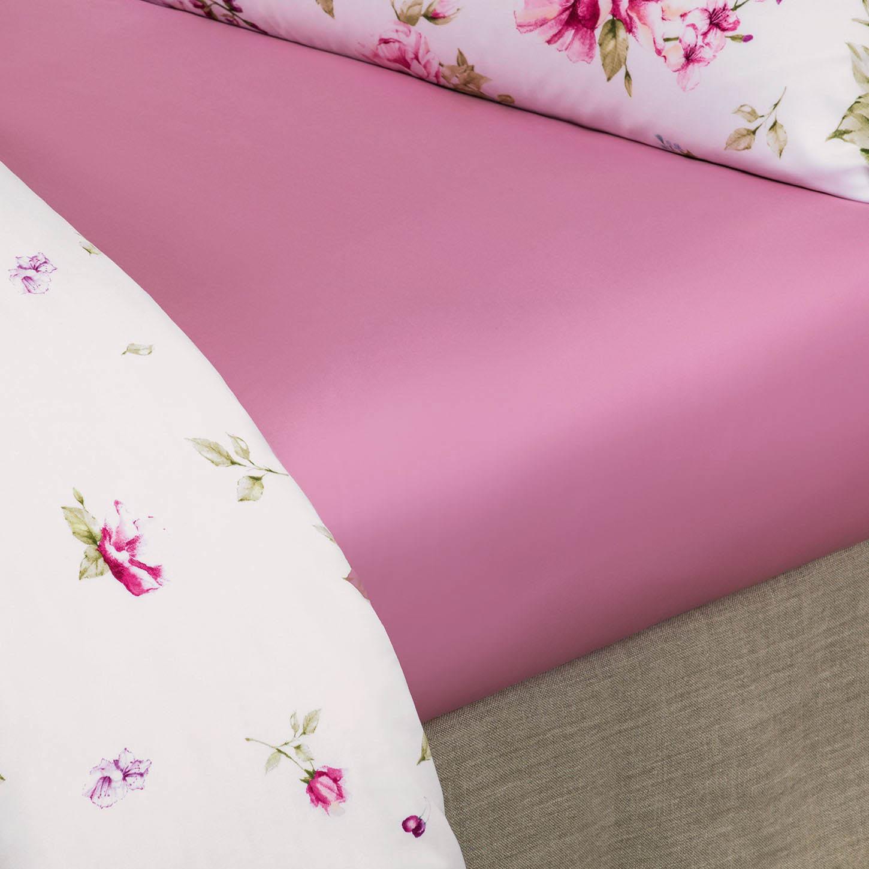 все цены на  Простыни Togas Простыня на резинке Альба Цвет: Розовый (200х200)  в интернете