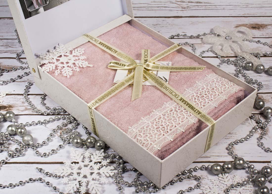Полотенца Altinbasak Полотенце Sveta Цвет: Розовый (70х140 см)