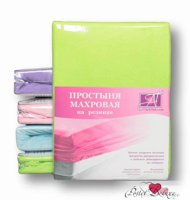 Простыни на резинке AlViTekПростыни на резинке<br>Производитель: AlViTek<br>Страна производства: Россия<br>Материал: Хлопковый трикотаж<br>Декоративный материал: Отсутствует<br>Состав: 100% хлопок<br>Размер простыни: 120х200 см<br>Высота: 20 см<br>Упаковка: Прямоугольная ПВХ<br><br>Тип: простыня<br>Размерность комплекта: None<br>Материал: Хлопковый трикотаж<br>Размер наволочки: None<br>Подарочная упаковка: None<br>Для детей: нет<br>Ткань: Хлопковый трикотаж<br>Цвет: Зеленый