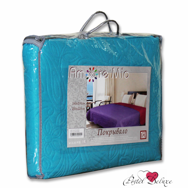 где купить Покрывало Amore Mio Покрывало Alba Цвет: Бежевый-Коричневый (200х220 см) по лучшей цене