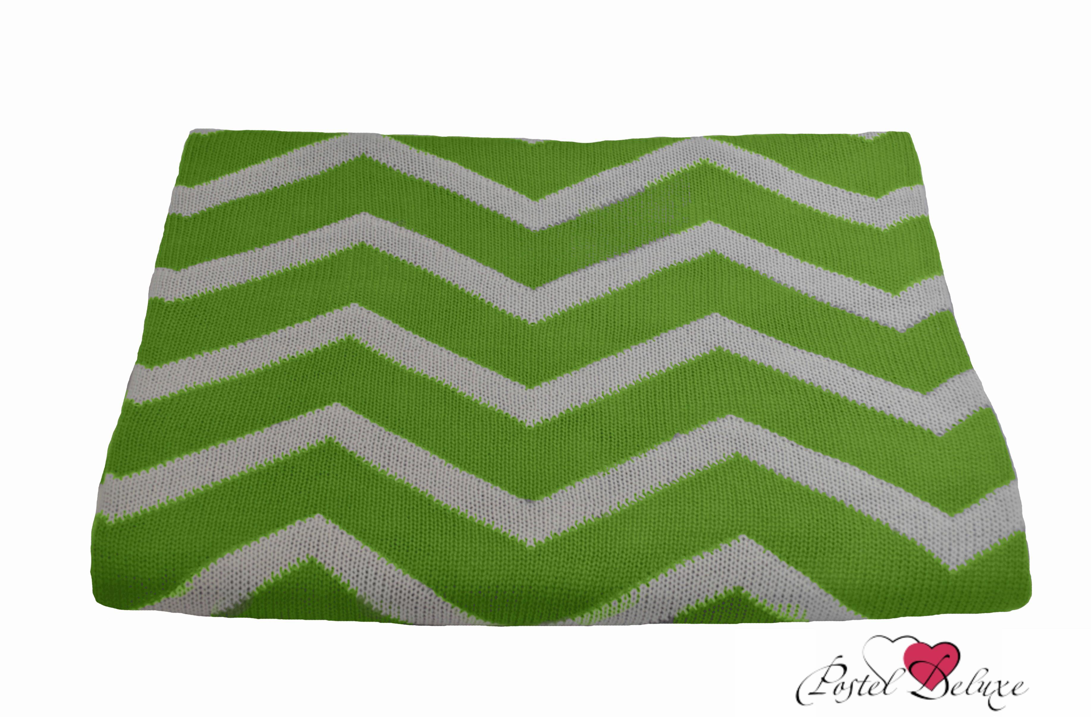 Apolena Плед Зеленый зигзаг (130х180 см)