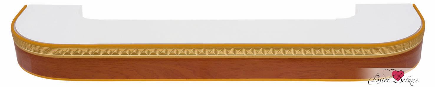 Карнизы ARCODOROРазмер (длина): 320 см<br>Диаметр трубы: 17х87 мм<br>Материал карниза: Пластик (ПВХ)<br>Тип карниза: Трехрядный карниз<br>Форма карниза: Фигурный карниз<br>Вид изделия: Профиль (Шина)<br>Крепление: Потолочный карниз<br><br>Карниз с поворотами (по бокам конструкции), с блендой высотой 50 мм, в индивидуальной упаковке.<br><br>Комплектация: <br>- 3-х рядная шина, <br>- бленда (высота 50 мм, материал - Пластик), <br>- крючки-ролики, <br>- стопоры, <br>- дюбели и шурупы.<br><br>Производитель: ARCODORO<br>Cтрана производства: Россия<br><br>Тип: Карнизы<br>Размерность комплекта: Карнизы<br>Материал: Пластик<br>Размер наволочки: None<br>Подарочная упаковка: Карнизы<br>Для детей: Карнизы<br>Ткань: Пластик<br>Цвет: None