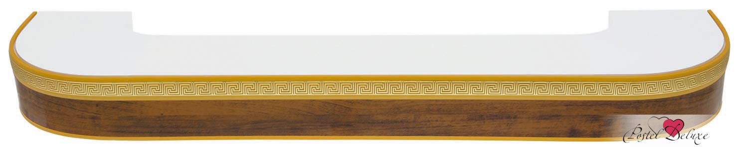Карнизы ARCODOROРазмер (длина): 340 см<br>Диаметр трубы: 17х77 мм<br>Материал карниза: Пластик (ПВХ)<br>Тип карниза: Двухрядный карниз<br>Форма карниза: Фигурный карниз<br>Вид изделия: Профиль (Шина)<br>Крепление: Потолочный карниз<br><br>Карниз с поворотами (по бокам конструкции), с блендой высотой 50 мм, в индивидуальной упаковке.<br><br>Комплектация: <br>- 2-х рядная шина, <br>- бленда (высота 50 мм, материал - Пластик), <br>- крючки-ролики, <br>- стопоры, <br>- дюбели и шурупы.<br><br>Производитель: ARCODORO<br>Cтрана производства: Россия<br><br>Тип: Карнизы<br>Размерность комплекта: Карнизы<br>Материал: Пластик<br>Размер наволочки: None<br>Подарочная упаковка: Карнизы<br>Для детей: Карнизы<br>Ткань: Пластик<br>Цвет: None