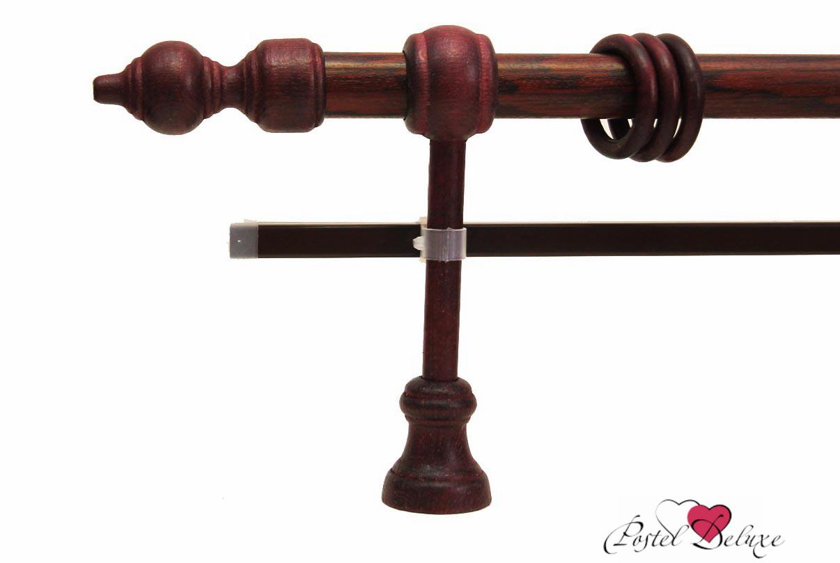 Карнизы ARCODOROРазмер (длина): 400 см<br>Диаметр трубы: 28 мм<br>Материал карниза: Дерево<br>Тип карниза: Двухрядный карниз<br>Форма карниза: Прямой карниз<br>Вид изделия: Гладкий карниз<br>Крепление: Настенный карниз<br>Особенность: Составной карниз<br><br>Штанга карниза и комплектующие выполнены из дерева. U-шина (для гардин) выполнена из металла с комплектующими из пластика.<br>Карниз состоит из 2-х частей (составной), которые соединяет между собой дополнительный кронштейн.<br><br>Комплектация:<br>- Карниз<br>- Кронштейны<br>- Кольца (пластиковые крючки в комплекте не идут)<br>- Наконечники для карниза<br>- U-шина<br>- заглушки для U-шины<br><br>Производитель: ARCODORO<br>Cтрана производства: Россия<br><br>Тип: Карнизы<br>Размерность комплекта: Карнизы<br>Материал: Дерево<br>Размер наволочки: None<br>Подарочная упаковка: Карнизы<br>Для детей: Карнизы<br>Ткань: Дерево<br>Цвет: None